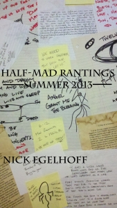 Half-Mad Rantings Cover su2013